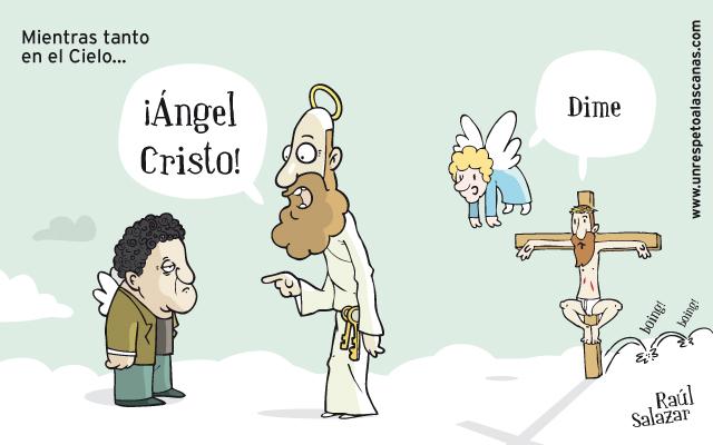 Caricatura de un angel - Imagui