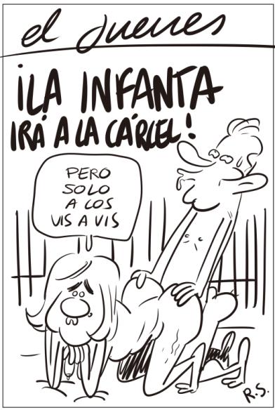 boceto-portada-infanta-urdangarin-el-jueves